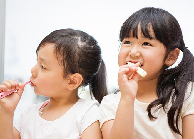 お子さまの歯を守るのは親御さまです