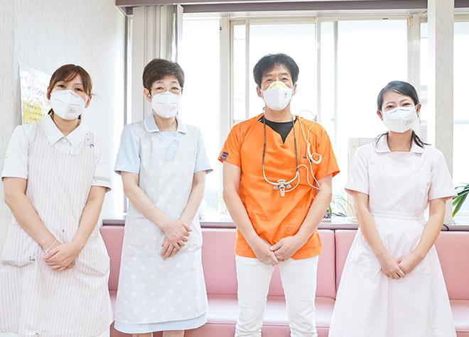 通院ができない方のために、訪問歯科診療を行っています