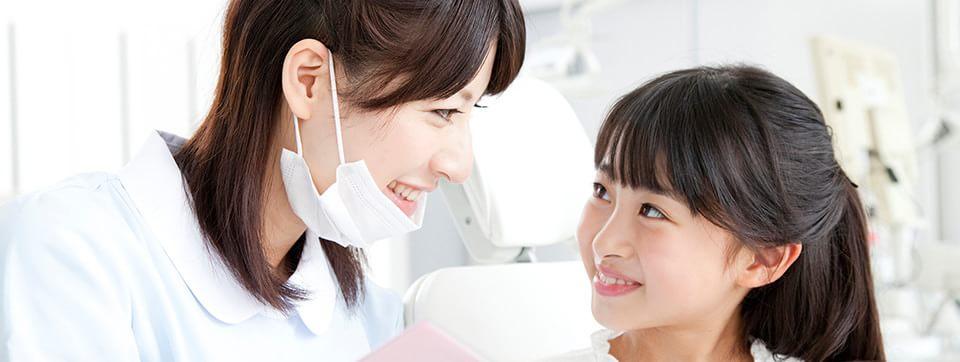 お子様の虫歯治療