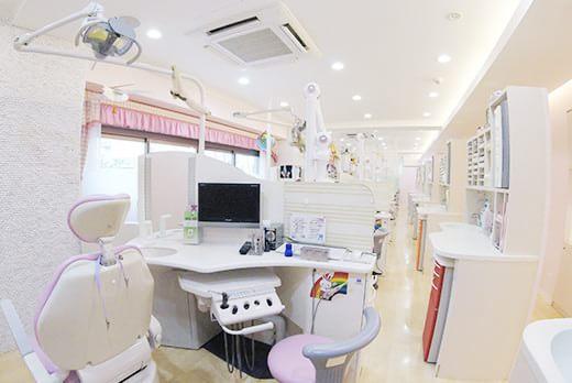 診療室全体