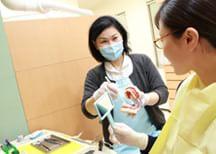 定期健診 予防歯科に力を入れています。