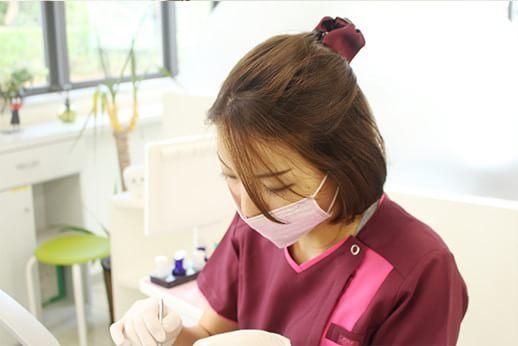 女性医師による診療