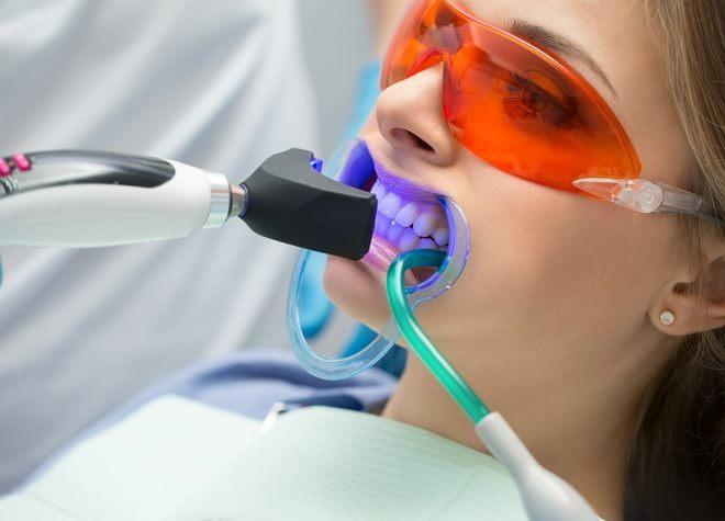 歯質に応じた自然な白さの歯へ