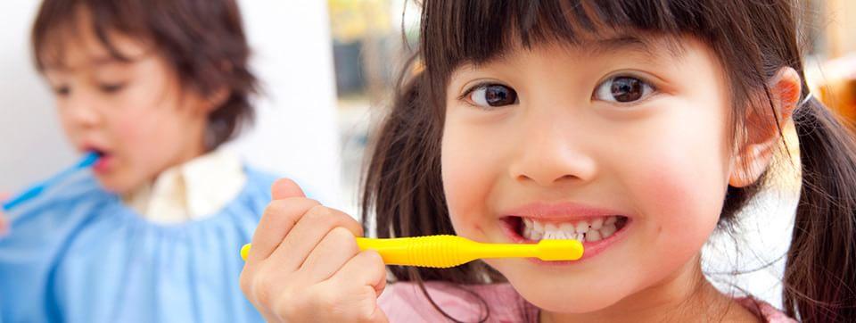 大切なお子様の歯を守るお手伝いをいたします。