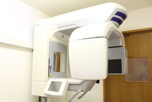 歯科用CTによる精密な診断