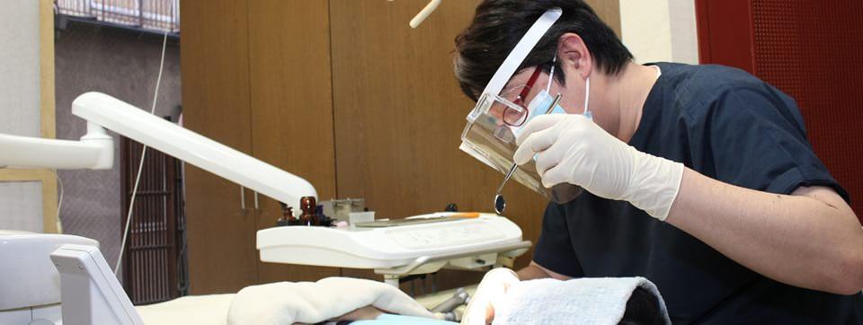 治療後の予防歯科