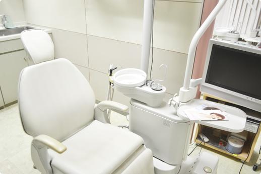 清潔な診療ユニット