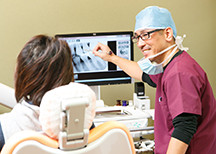 歯をできるだけ残す治療 治療の際は痛みに十分配慮をしております