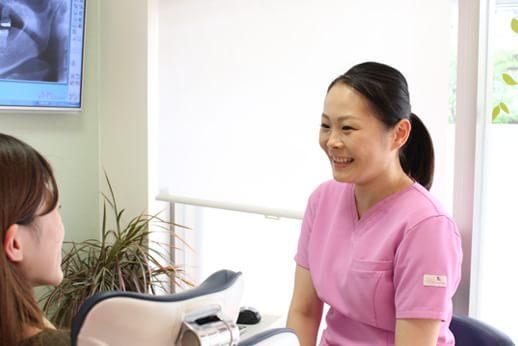 歯科衛生士診療風景