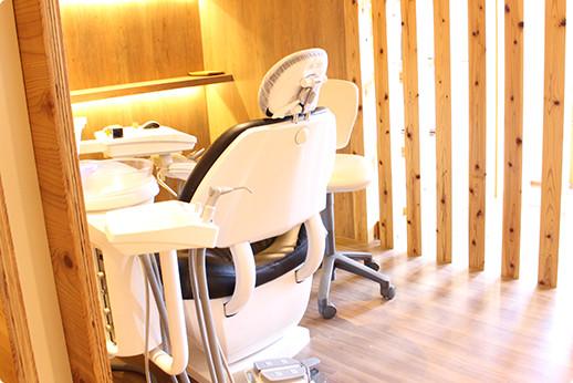 温かみのある診療室