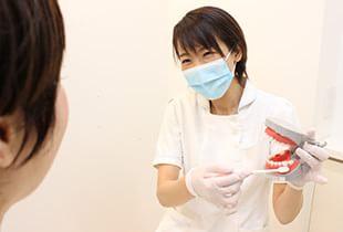 お子さまの虫歯予防