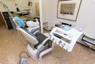 診療室の内観