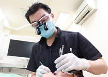 歯を健康な状態で残す 10年、20年、 いつまでもご自身の健康な歯で。