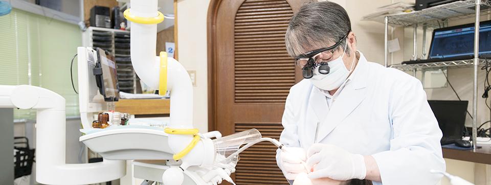 こだわりの治療 -歯科医師歴40年超えの院長ー