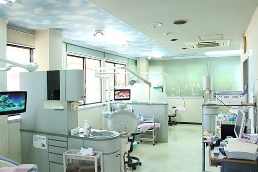 診療室内全体です。