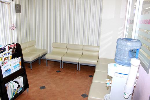 待合室です