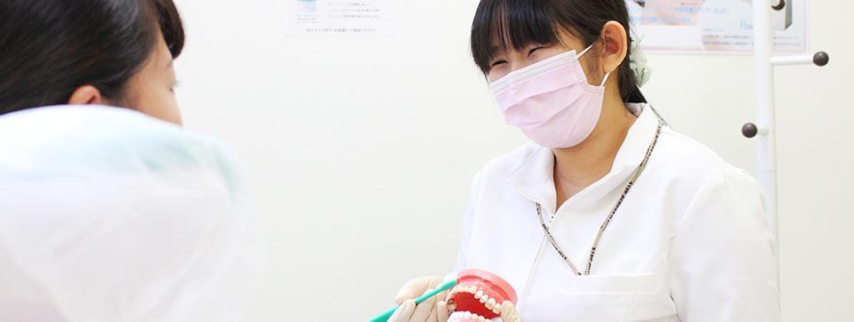 口腔ケアでいつまでも健康な歯を維持しましょう