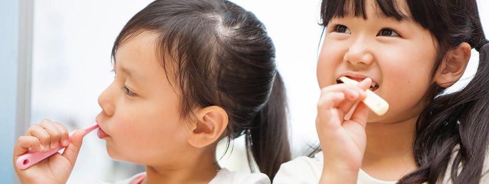 お子さまの虫歯や歯並びでお悩みではありませんか