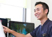 丁寧な検査のもと、分かりやすい説明を心がけ、患者さまとの信頼関係を大切にします。