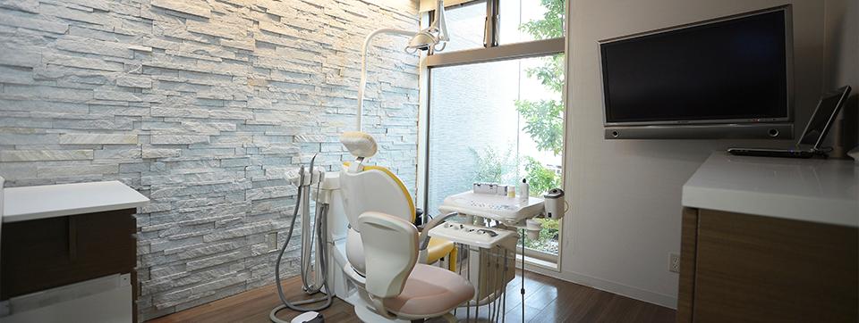 綺麗な治療室