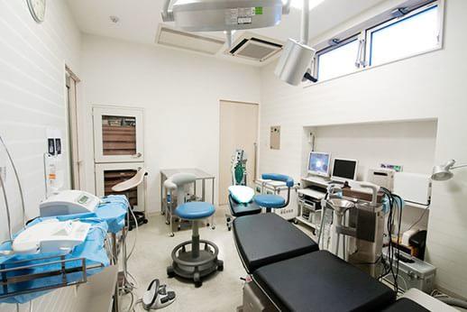 オペ専用の治療室は完全個室となっております。