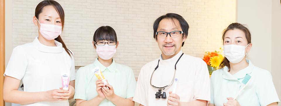 生活習慣や将来も考えた幅広い治療での健康サポート