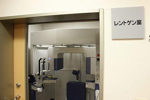 院内のレントゲン(CT)室です。中条地域でも都心部と変わらない医療をご提供できます。