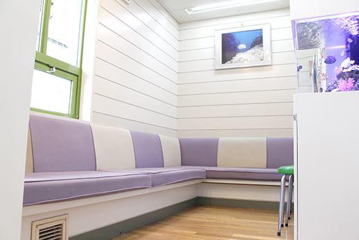 当院の待合室です