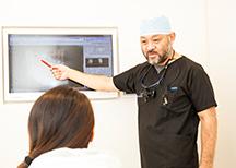 ―診査・診断― デジタルを駆使した、わかりやすく丁寧なカウンセリングを行います