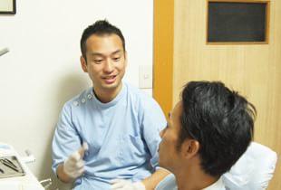 患者様と向き合えるマンツーマン治療