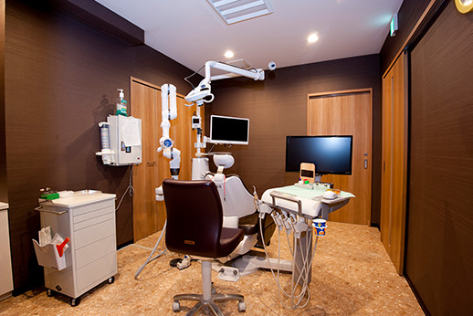 個室の診療室を完備しております。