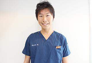 総合歯科 HMクリニック大阪中央|医師・スタッフ|院長 荒木 幸次(Kouji Araki) 1