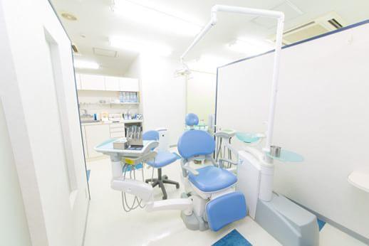 診療室も常に清潔に保っています。