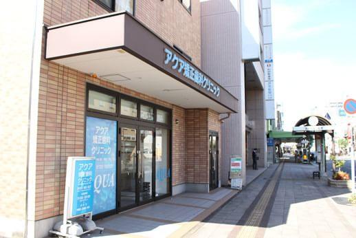 高崎駅より徒歩4分の好立地に当院はございます。
