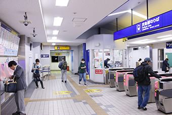京急本線杉田駅
