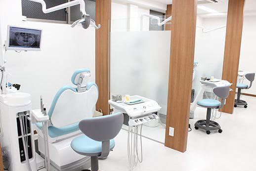 リラックスできる診療室です