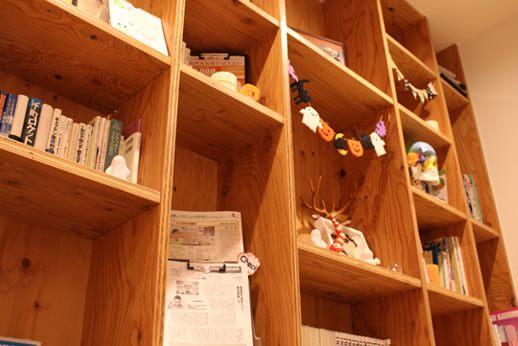大きな本棚
