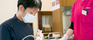 ~歯科医師が多く在籍しているクリニック~幅広い治療に対応が可能です