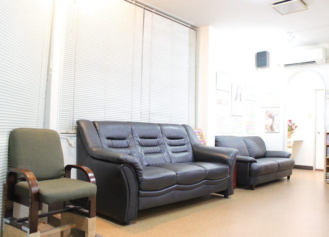 待合室です。診療の前後はこちらでリラックスしてお待ちください。