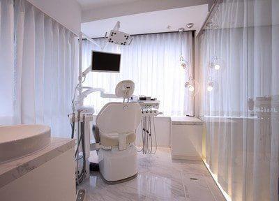 診療室は個室制になっていますので、プライベート空間を確保いただけます。