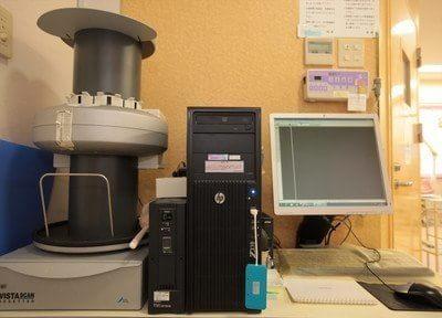 VISTASCAN(ビスタスキャン)使用してレントゲンで撮影した画像をデジタルデータ化にしています。