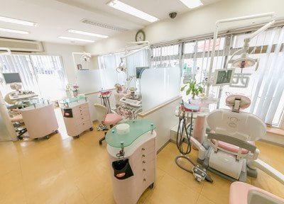 清潔な診療室です。