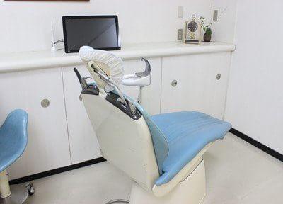 清潔な診療チェアで治療を行います。