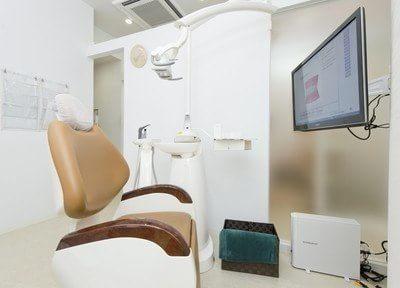 当院の診療室は個室で、患者様のプライベートな空間を確保しております。