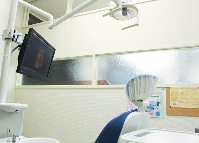 個室の診療室があります。