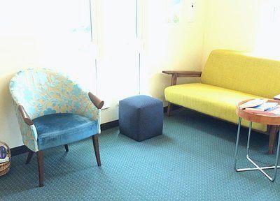 診療の前後は、こちらでお待ちくださいませ。