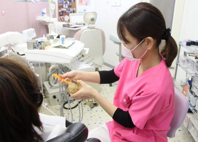 患者さまのお口に適したブラッシング指導で歯周病を予防