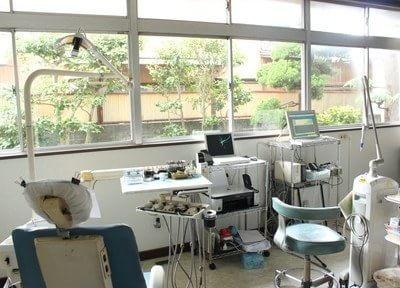 診療室です。精密で良質な治療をご提供いたします。