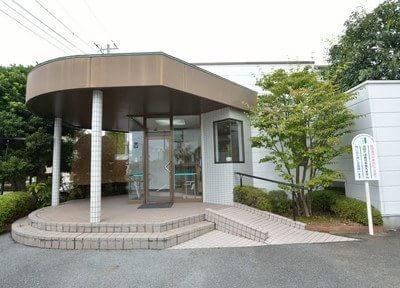 森川歯科医院の外観です。お気をつけてご来院下さい。