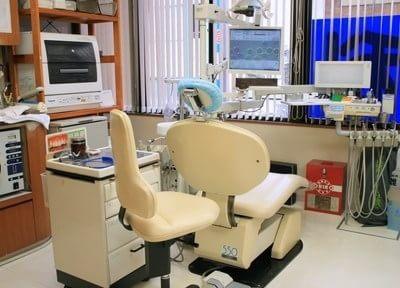 診療室です。不安点などございましたら、お気軽にご相談くださいね。